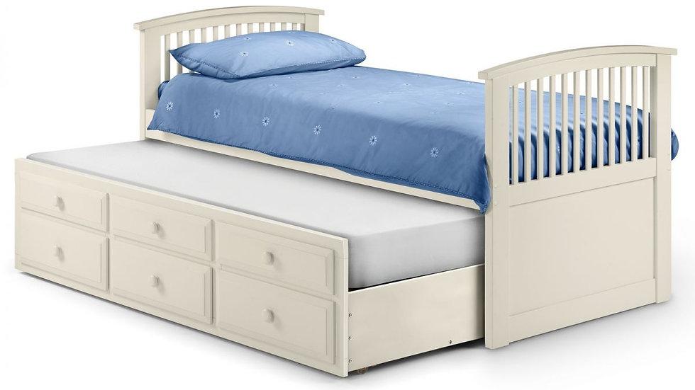 Hornblower Bed - Stone White