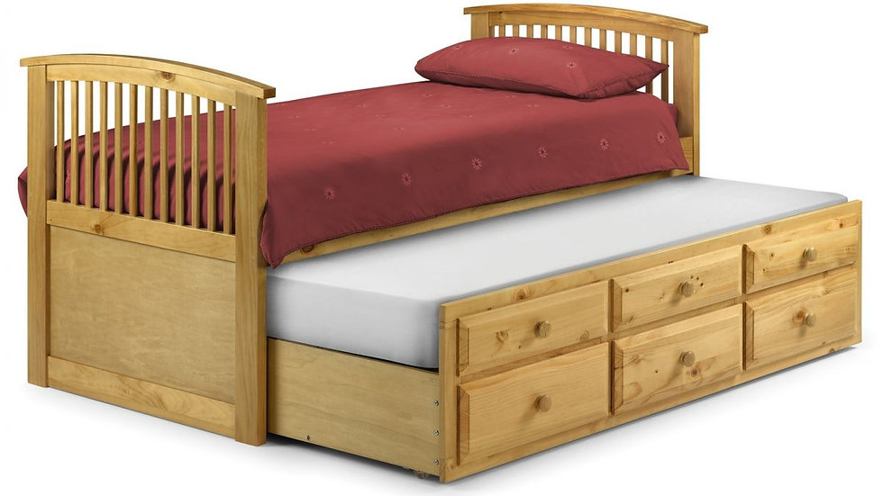 Hornblower Bed - Antique Pine