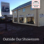 Image of the exterior of our showroom in dunfermline
