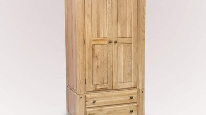 Donny 2 Door Wardrobe