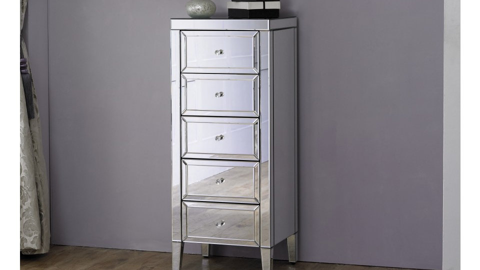 Valencia 5 Drawer Narrow Chest