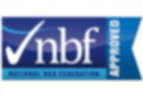 Nbf Logo To Assure Customers There Getting The Best British Manufactuared Beds