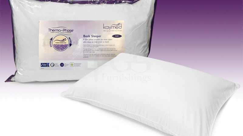 Kaymed Therma-Phase Back-Sleeper Pillow