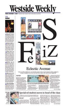Westside Weekly (owned by LA Times)