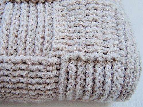 Handmade Crocheted Woollen Throw