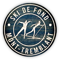 logo icone ski de fond Mont-Tremblant