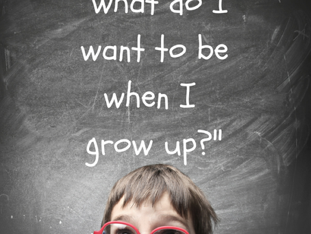 "Why We Should Stop Asking Our Kids ""What do you want to be when you grow up?"""