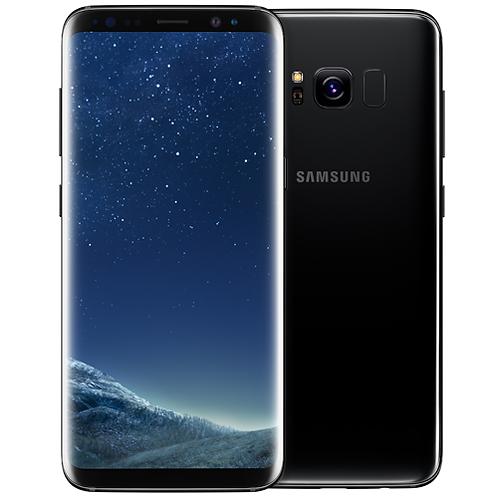 "Samsung Galaxy S8 - 64GB - Zwart <font size=""-1"">(Prima staat)</font>"