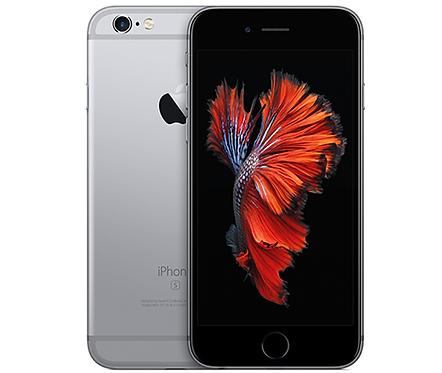 Refurbished Apple iPhone 6S 64GB Zwart
