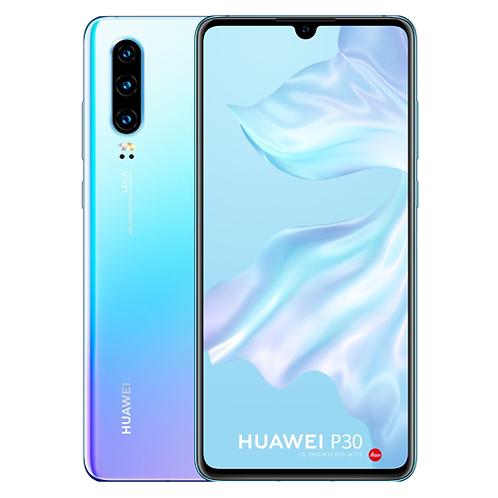 """Tweedehands Huawei P30 Dual Sim 128GB - Breathing Crystal  <font size =""""-1"""">(Zé"""
