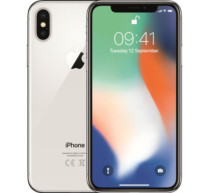 Refurbished Apple iPhone X 64GB Wit