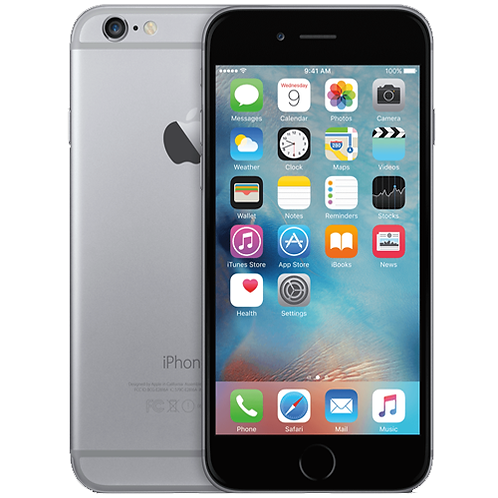 Refurbished Apple iPhone 6 Plus 16GB Zwart