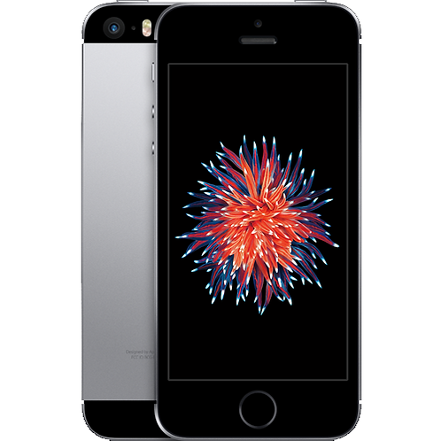 Refurbished Apple iPhone SE 128GB Zwart