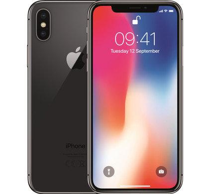 Refurbished Apple iPhone X - 64GB Zwart