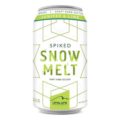 Upslope - Spiked Snow Melt Juniper & Lime