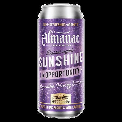 Sunshine & Opportunity: Lavender Honey
