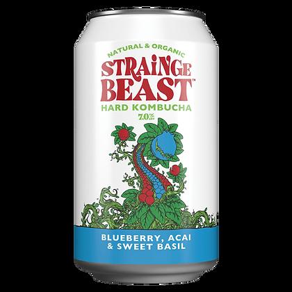 Strainge Beast Blueberry, Acai & Sweet Basil