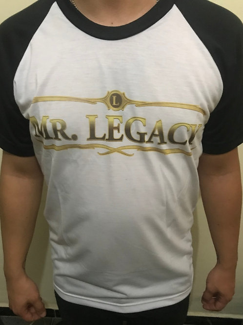 Camiseta MR. LEGACY LOGO
