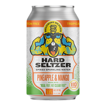 Hard Seltzer Pineapple & Mango