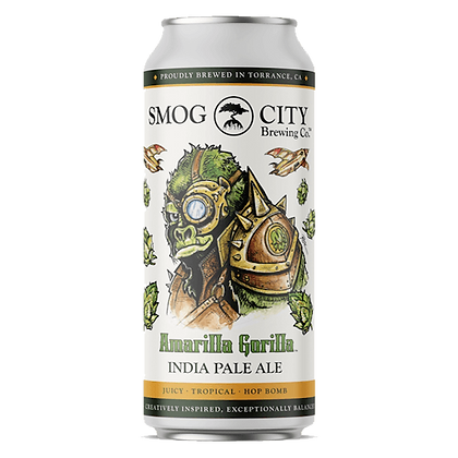 Smog City - Amarilla Gorilla