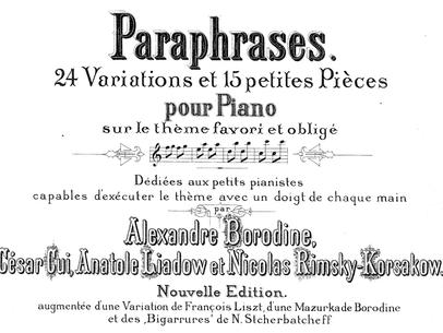 Artigo: Palitos Chinos para piano