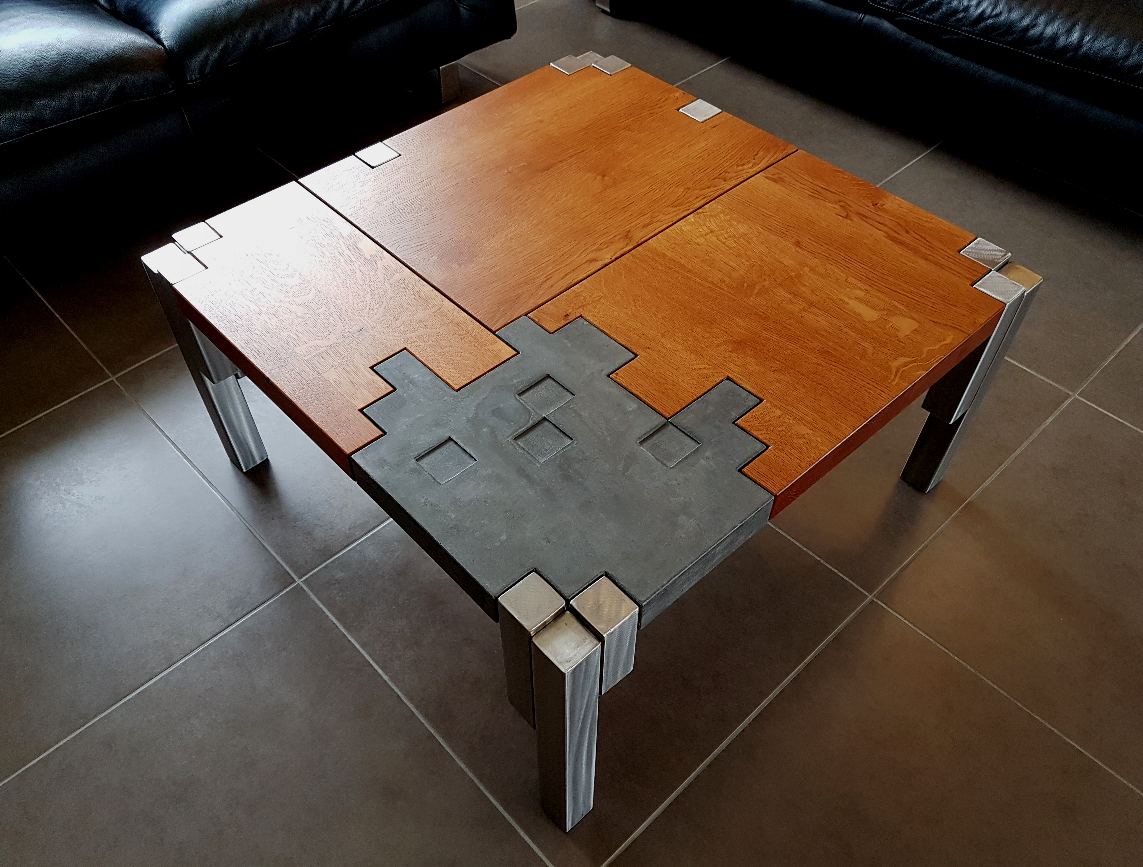 TABLE BASSE ELEMENTS