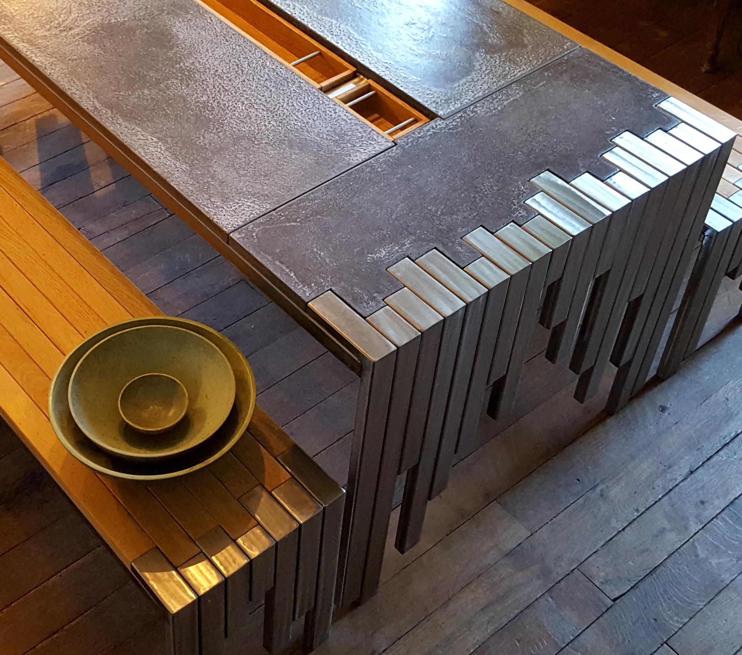 TABLE ET BANCS FUSION