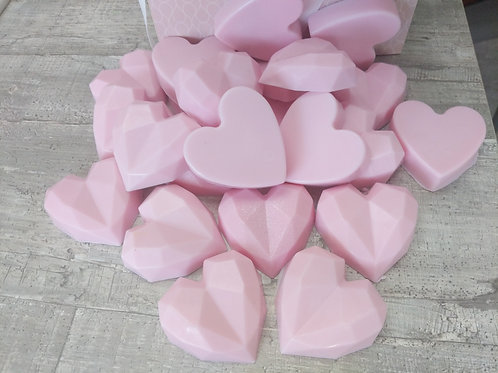 Strawberry hearts 3 for £2.50