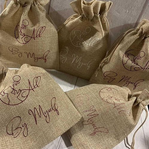 All by Myself Custom gift bags