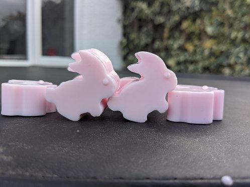 Easter bunnies soap sets - 6 bunnies per set