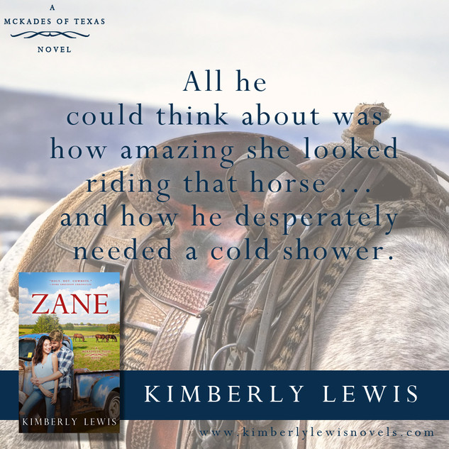 Zane (The McKades of Texas, Book 1)