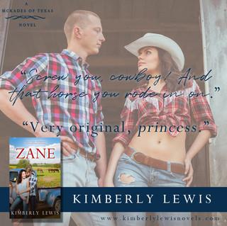 Zane (The McKades of Texas, Book 1)