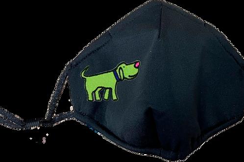 Green Dog Mask