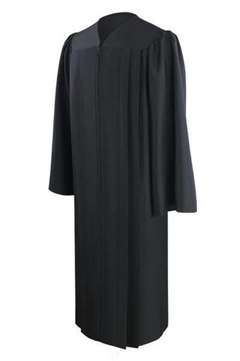 Eco Friendly Black Graduation Gown