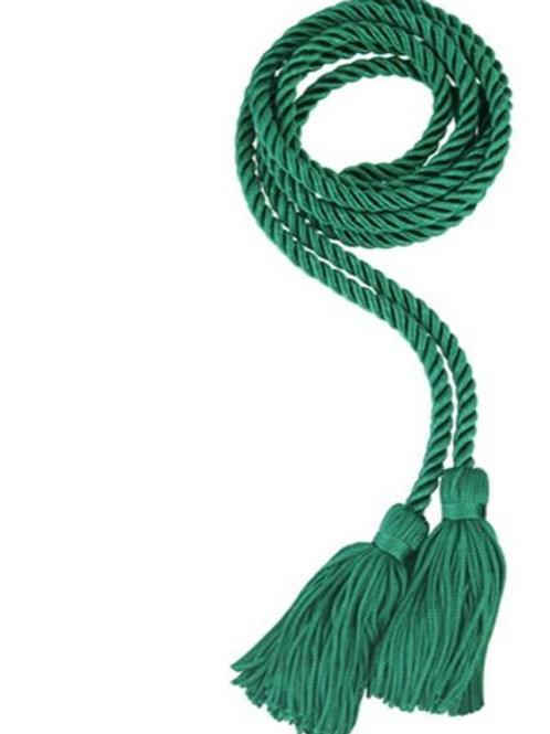 Emerald Single Graduation Honor Cord