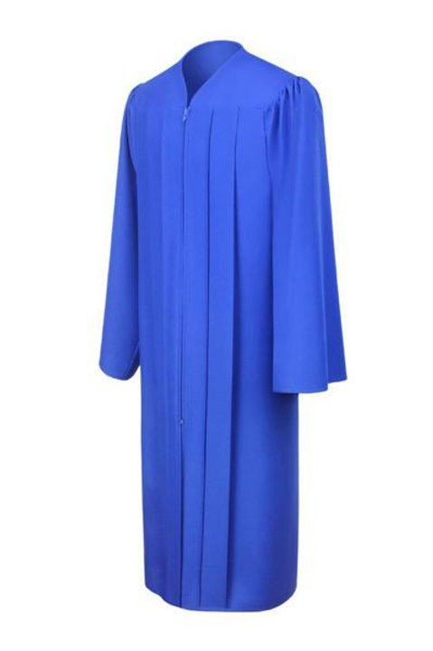 Royal Blue Matte Gown