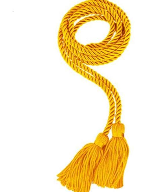 Gold Single Graduation Honor Cord