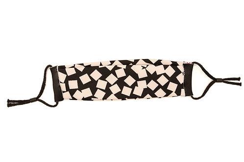Black & White Grid Mask