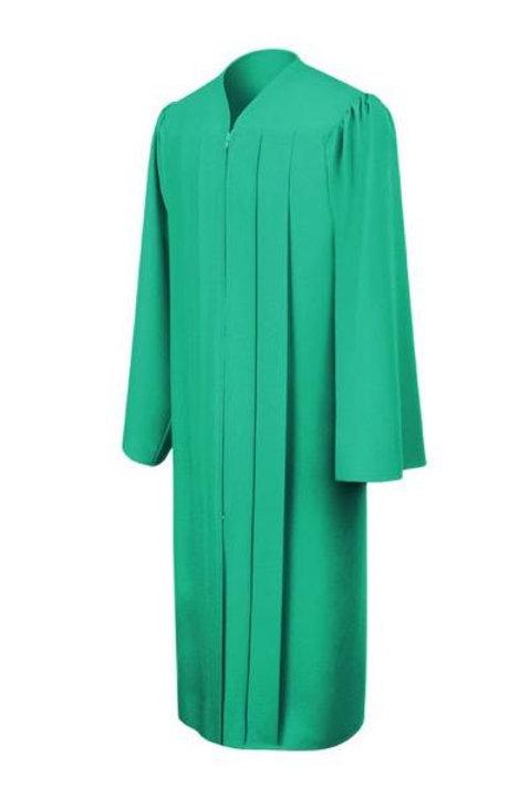 Emerald Matte Graduation Gown