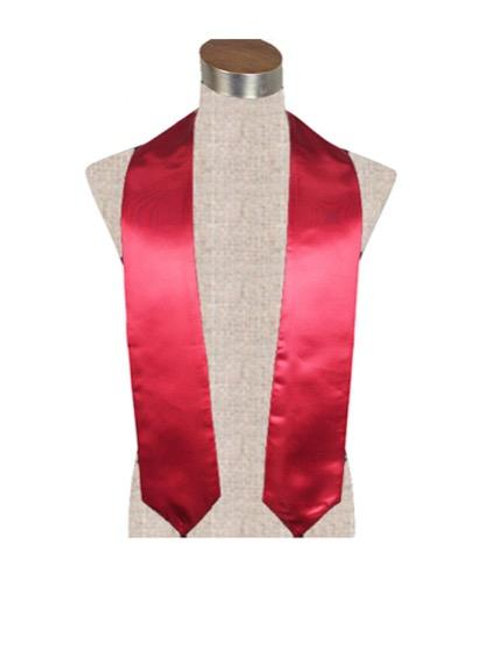 Red Satin Stole