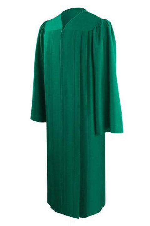 Eco Green Graduation Gown