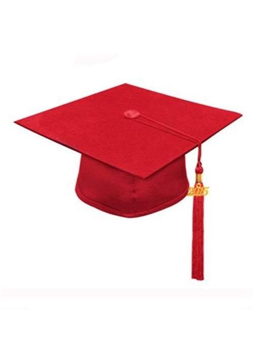 Red Matte Cap