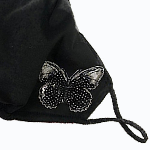 Butterfly Sequins Mask