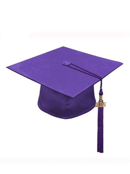 Purple Matte Cap