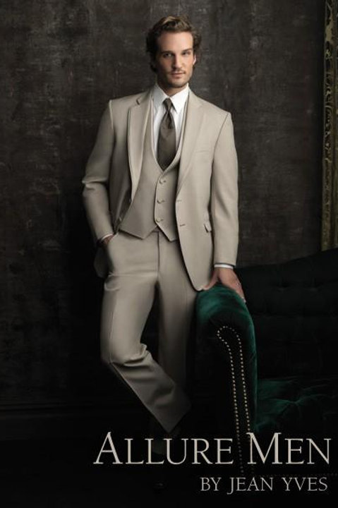 Allure Tan Formal Suit