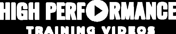 High Performance Wordmark_Training Videos White.png
