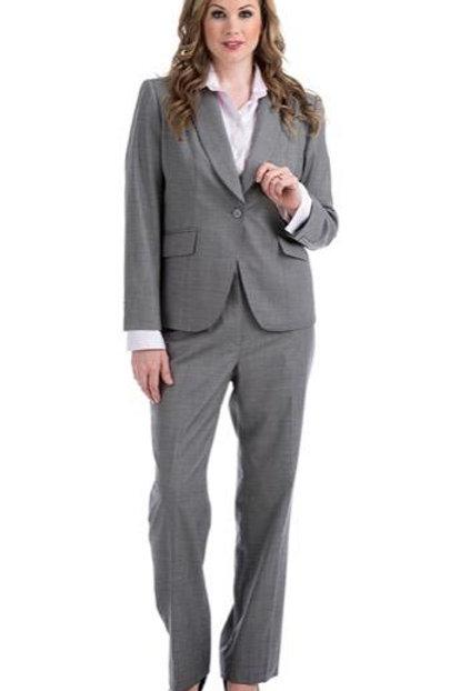 One Button Blazer Shawl Collar