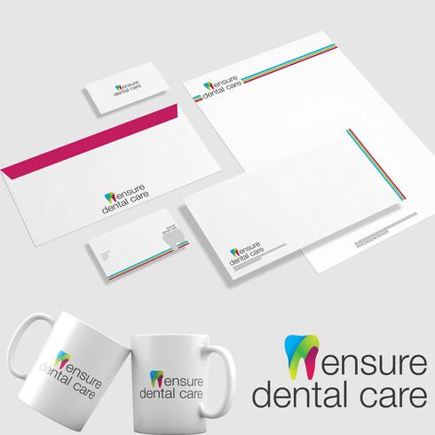 Ensure-Dental-Clinic Logo by Suket Dedhi