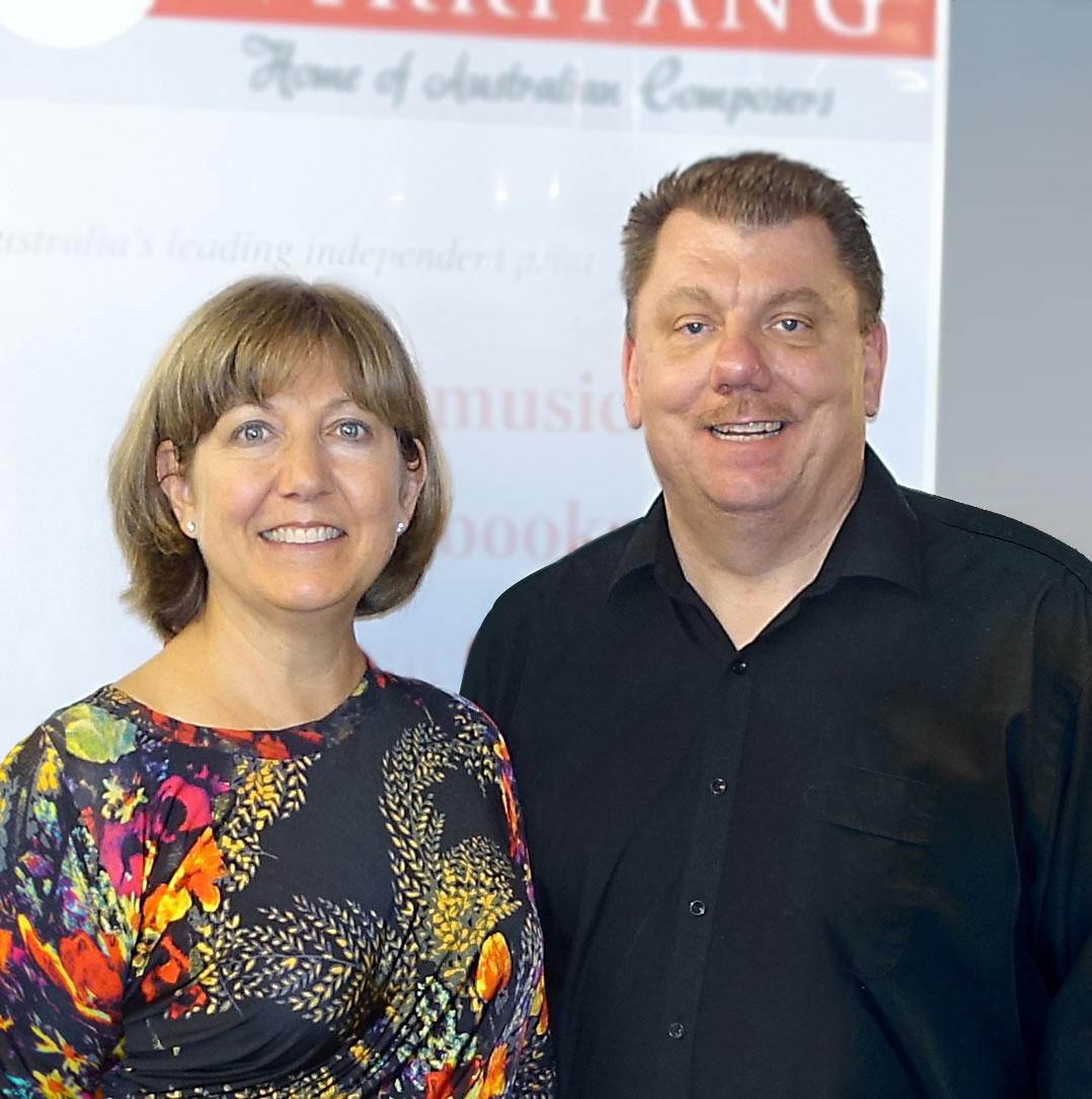 Judy Diez d'Aux and Peter Sheridan Australian Flute Festival 2015