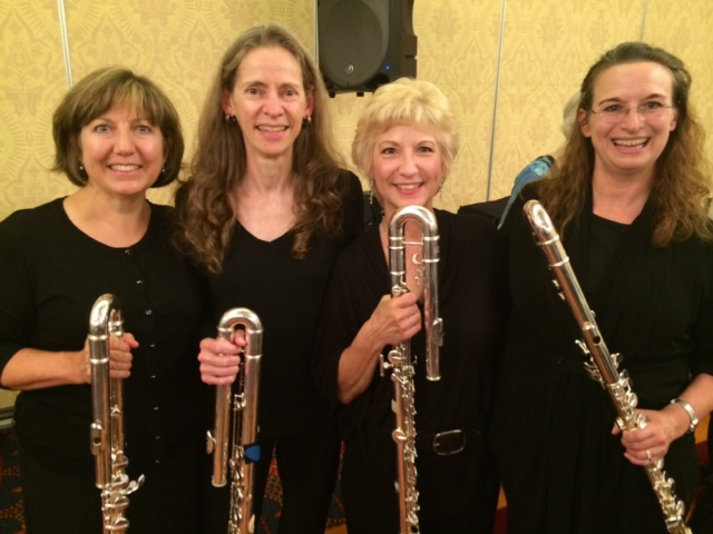 NFA 2014 Professional Flute Choir Bass Section, Chicago